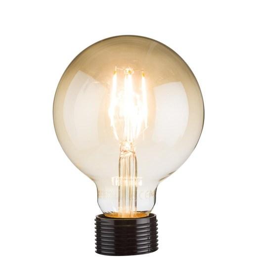 Coco Maison filament bulb rond E27 goud