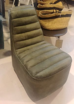 Eleonora Leonard fauteuil groen showroommodel