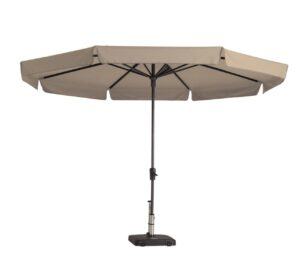 Madison Parasol Syros Luxe 350 cm Ecru
