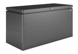Biohort LoungeBox 160 Donkergrijs Metallic