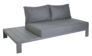 Max & Luuk Eind Module Rechts Mike Lounge Aluminium