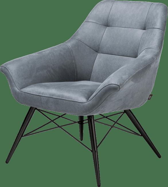 Henders en Hazel Ravenna fauteuil Kibo Skyblue