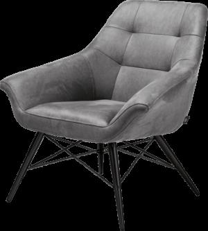 Henders en Hazel Ravenna fauteuil Kibo antraciet
