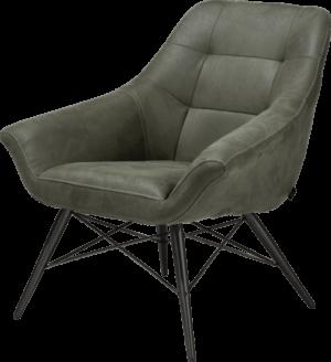 Henders en Hazel Ravenna fauteuil Kibo groen