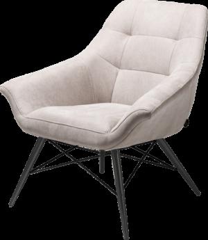 Henders en Hazel Ravenna fauteuil Kibo lichtgrijs