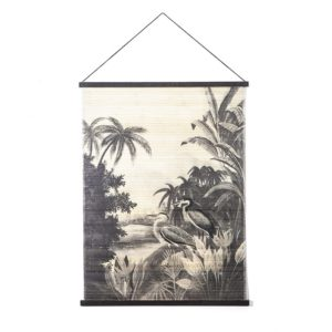 By Boo Miyagi Jungle large wanddecoratie