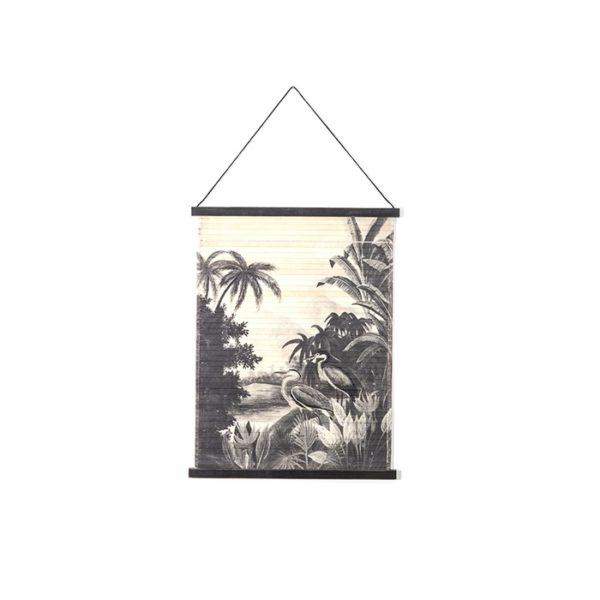 By Boo Miyagi Jungle small wanddecoratie