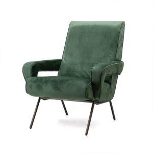 Eleonora Lana fauteuil groen velvet