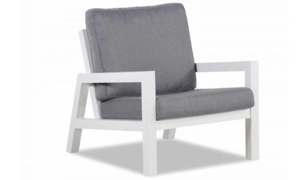 Suns Loungechair Lago Matt White