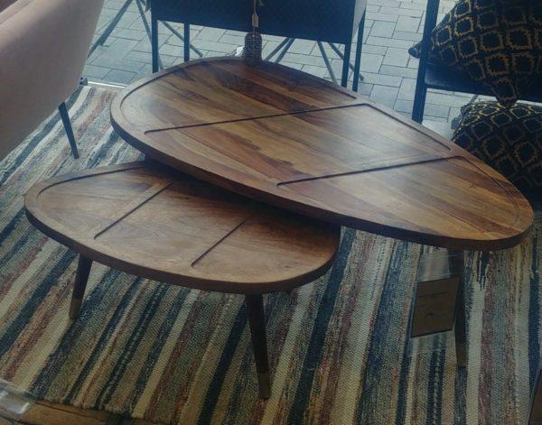 Dutchbone Sham salontafel set van twee showroommodel