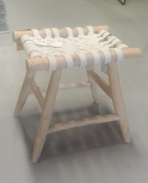 Must Living Rope stool showroommodel