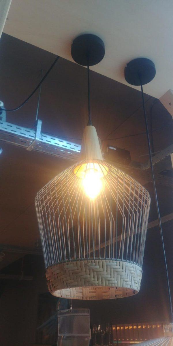 Zuiver Birdy long hanglamp showroommodel