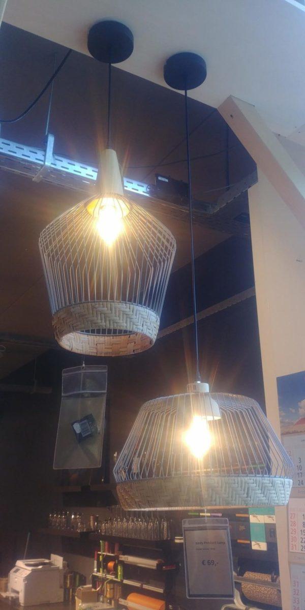 Zuiver Birdy wide hanglamp showroommodel