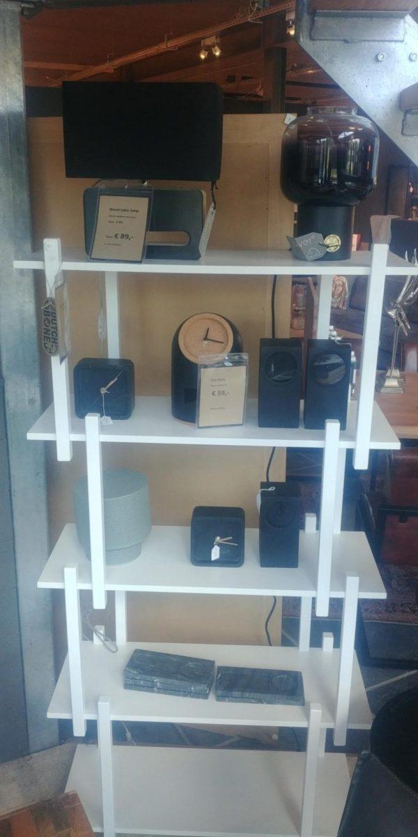 Zuiver Build shelf five wit showroommodel