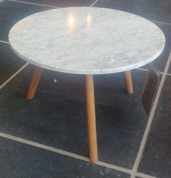Zuiver White Stone L bijzettafel showroommodel