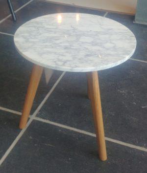 Zuiver White Stone M bijzettafel showroommodel