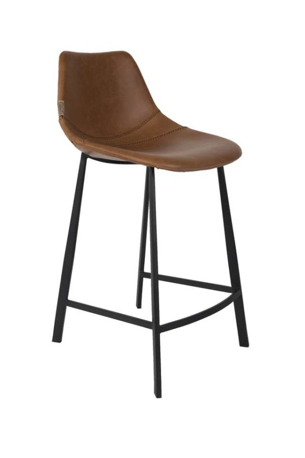 Dutchbone Franky counterstool bruin