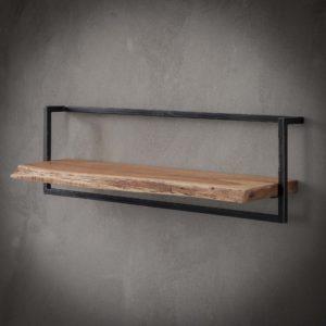 Edge wandplank 100 cm acacia hout