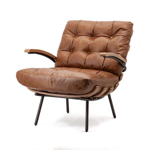 Eleonora Bastiaan fauteuil cognac