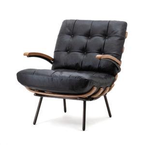 Eleonora Bastiaan fauteuil zwart