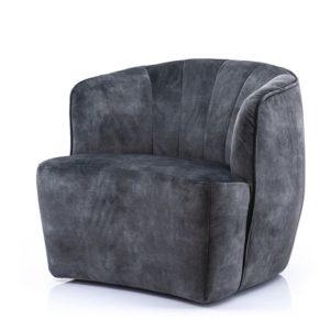 Eleonora Michelle fauteuil antraciet adore