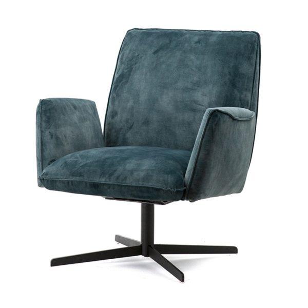 Eleonora Vivian fauteuil blauw adore