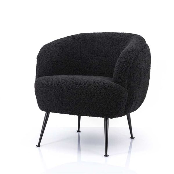 By Boo Babe fauteuil zwart