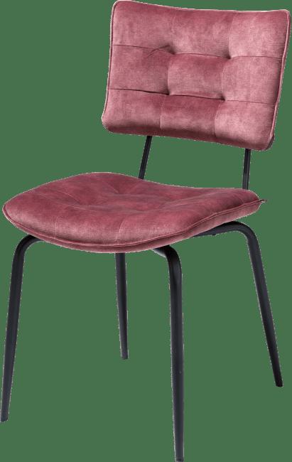 Henders en Hazel Manou eetkamerstoel Karese burgundy red