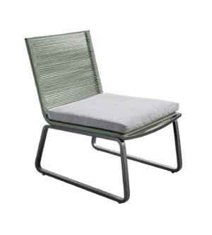 Yoi Loungechair Kome Rope Green