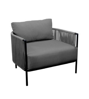 Yoi Loungechair Umi Rope Grey