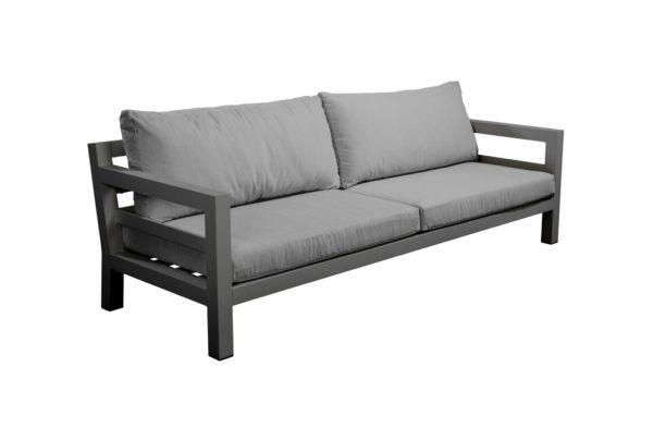 Yoi Lounge Sofa Midori 3-Zits Donkergrijs