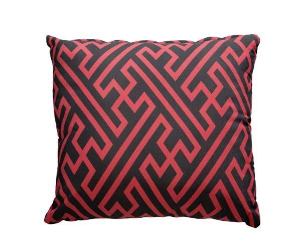 Yoi Sierkussen Maze Red 50x50 cm
