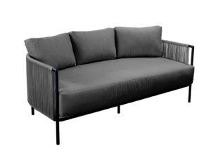 Yoi Lounge Sofa Umi Rope Grey