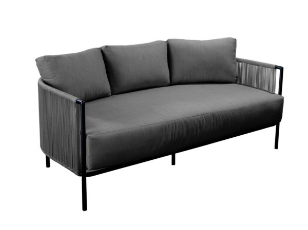 Yoi Lounge Sofa Umi Rope Grey