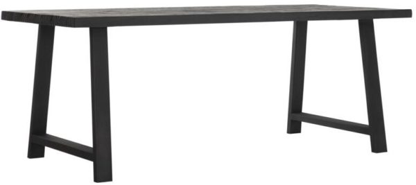 d-Bodhi Timeless A-team eettafel black 200 x 95 cm