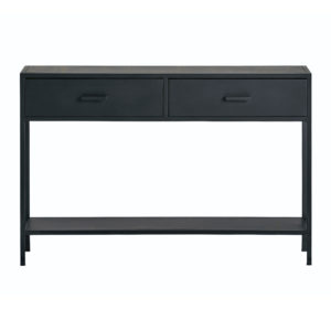 mysons Black metal collection sidetable 120 cm