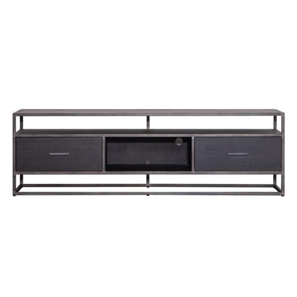 Eleonora Hudson tv dressoir 185 cm zwart