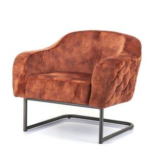 Eleonora Paulette fauteuil stof Bonnie brick