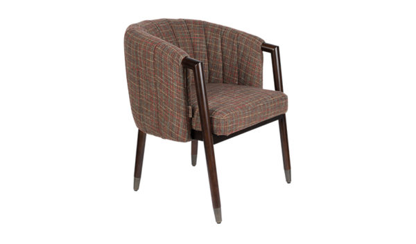 Dutchbone Tammy fauteuil texas tartan