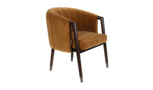 Dutchbone Tammy fauteuil whiskey