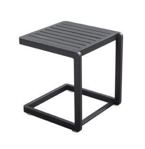 Yoi Sidetable Hokan Black Aluminium