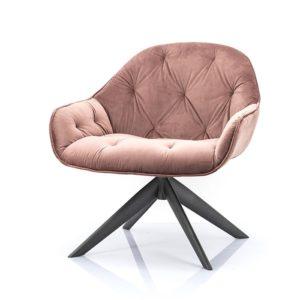 Eleonora Joy fauteuil winnfield roze