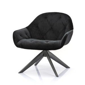 Eleonora Joy fauteuil winnfield zwart