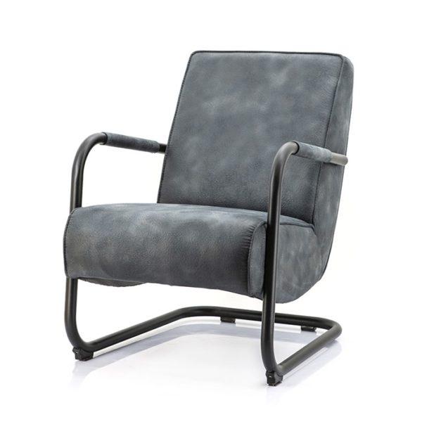 Eleonora Pien fauteuil Cherokee blauw