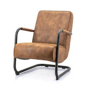 Eleonora Pien fauteuil Cherokee cognac