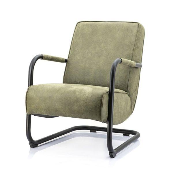 Eleonora Pien fauteuil Cherokee groen