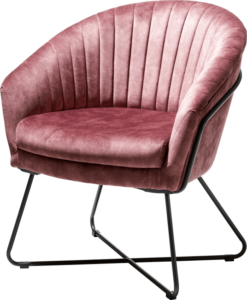 Henders en Hazel Cayenne fauteuil burgundy red