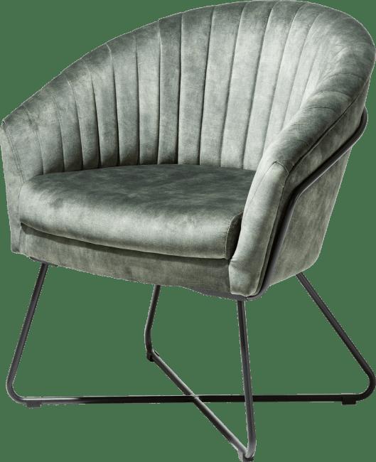 Henders en Hazel Cayenne fauteuil olijf