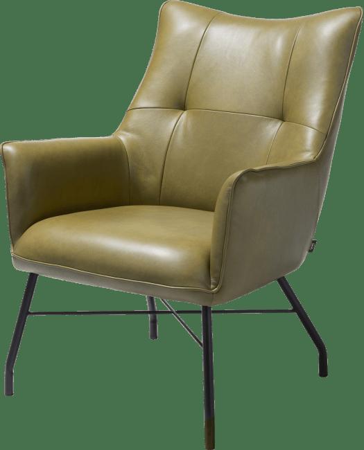 Henders en Hazel Chiara fauteuil Laredo leer groen