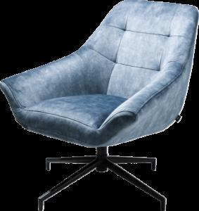 Henders en Hazel Reggio fauteuil Karese blauw